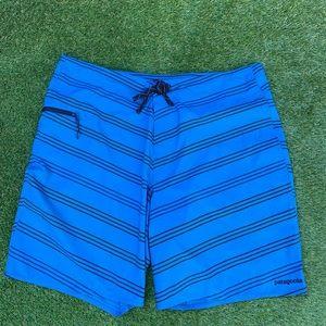 PATAGONIA Swim Shorts Boardshorts Blue Mens 38
